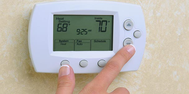 Thermostat Settings - Heating and Cooling